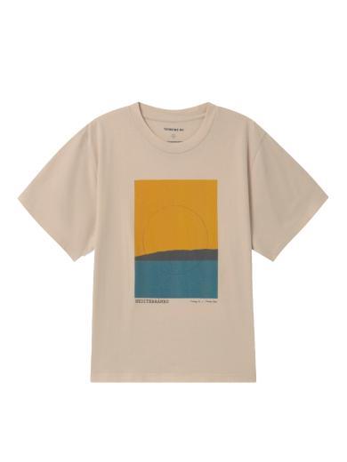 Thinking MU Mediterraneo T-Shirt Nude