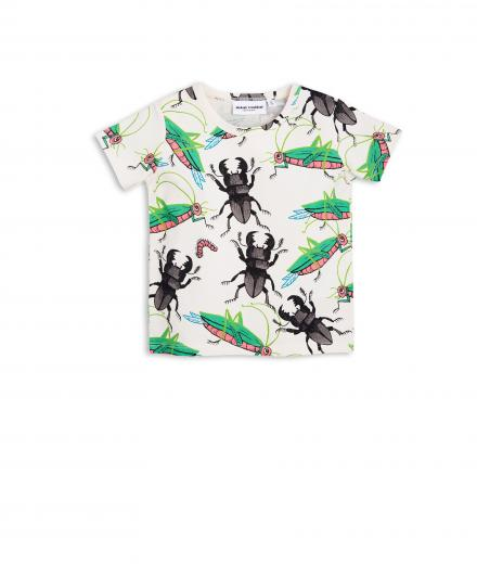 Mini Rodini Insects SS Tee offwhite | 104/110