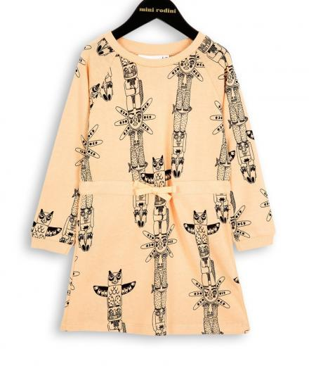 Mini Rodini Totem LS Sweat Dress