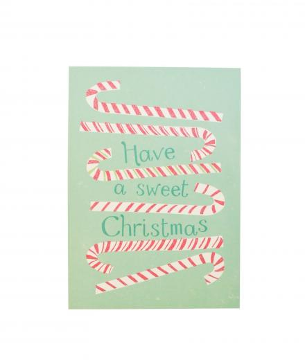 MOZAÏQ Postkarte Sweet Christmas