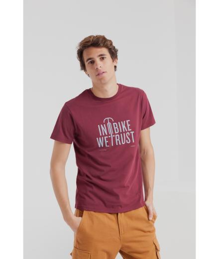 Thinking MU In Bike We Trust T-Shirt