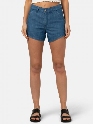 MUD JEANS Ivy Short pure blue