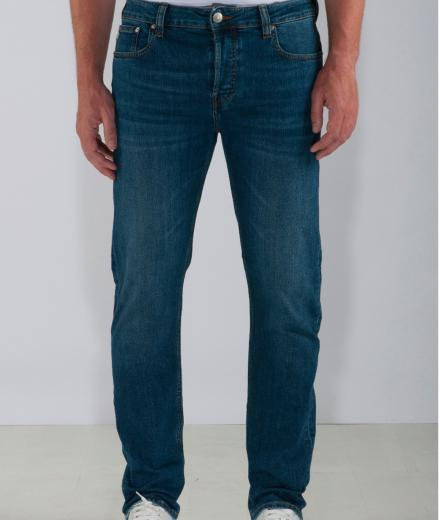 MUD JEANS Regular Bryce Authentic Indigo lion | 30/32
