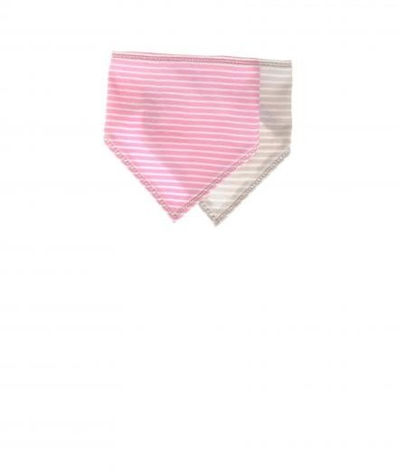 My Circus I Love Sugar Pearls Baby Bib pink