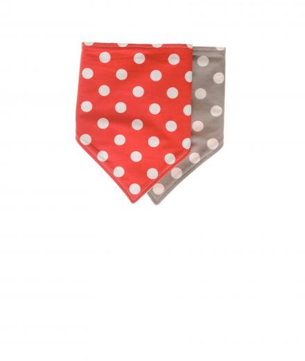 *my circus* I Love Sugar Pearls Bib Taupe