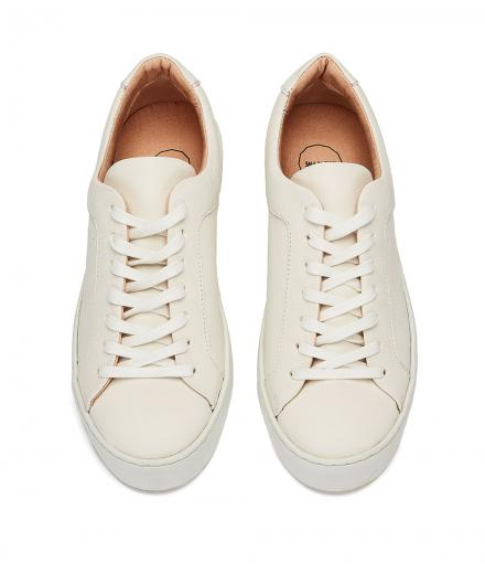 NINE TO FIVE Laced Sneaker #Gracia White star | 37