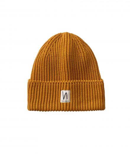 Nudie Jeans Tysson Ribbed Beanie Dandelion