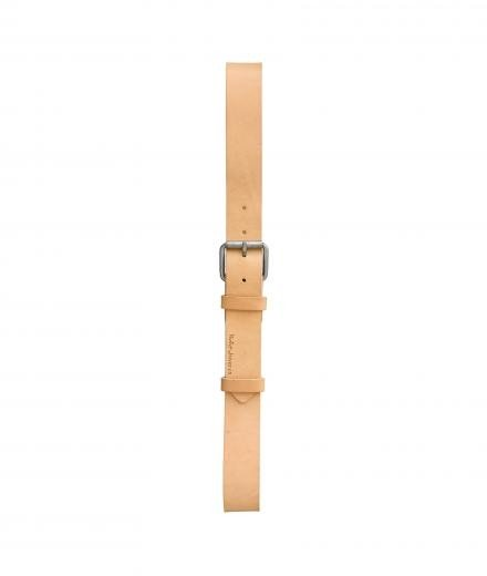 Nudie Jeans Pedersson Leather Belt natural