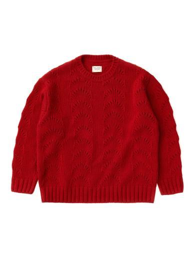 Nudie Jeans Lena Fancy Knit chili