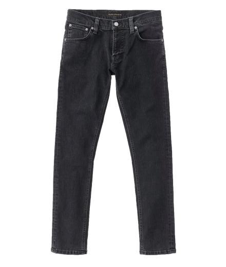 Nudie Jeans Skinny Lin Black Stone Pwr | 31/32