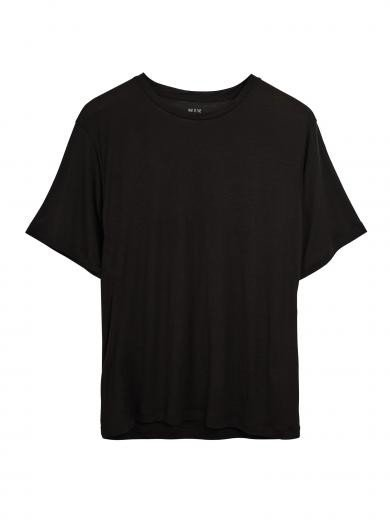 NINE TO FIVE Boxy Tee #BODEN black | M