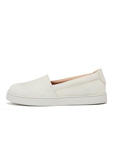 NINE TO FIVE Slip Sneaker #sarria white micro
