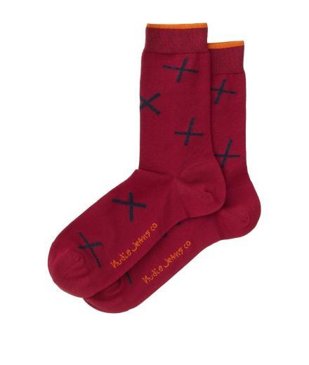 Nudie Jeans Olsson Socks Crosses