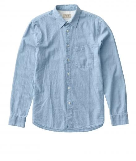 Nudie Jeans Stanley Light Shade Chambray Denim S