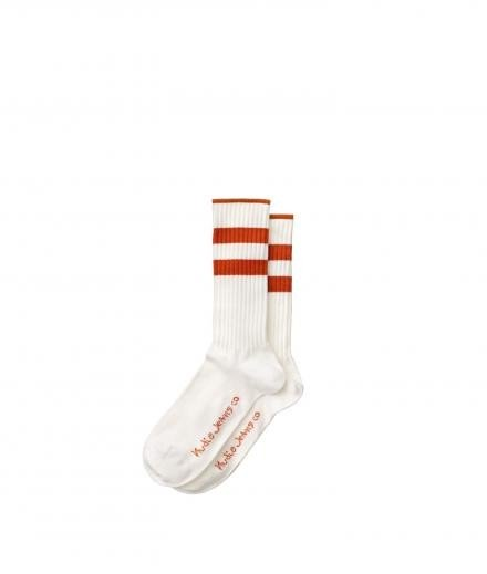 NUDIE JEANS Amundsson Sport Socks onesize   offwhite