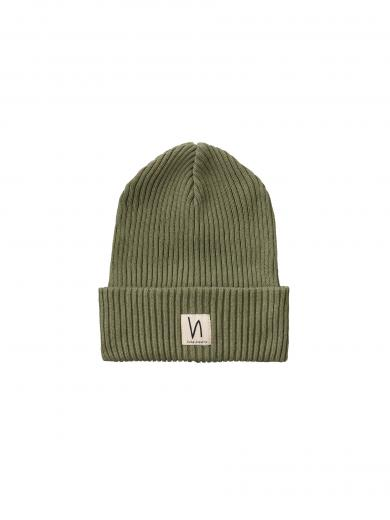 Nudie Jeans Nilsson Beanie beech green