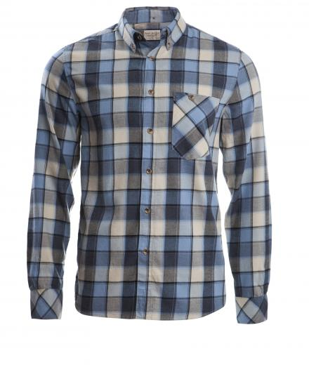Nudie Jeans Stanley Light Flanell Check L