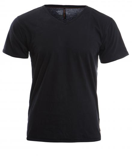 Nudie Jeans V-Neck T-Shirt XL | black