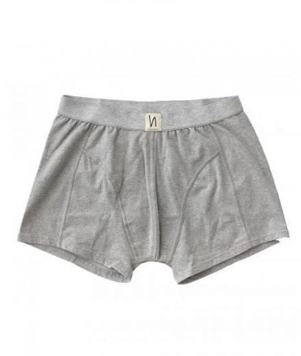 Nudie Jeans Boxer Briefs Solid grey melange | S