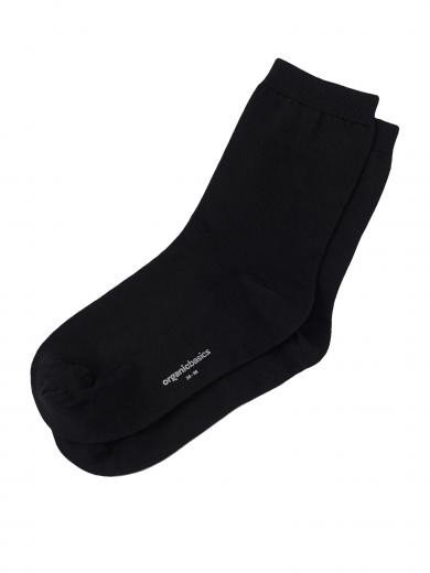 Organic Basics Organic Cotton Socken 2-Pack Black