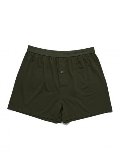 Organics Basics TENCEL Lite Boxer Shorts Dark Green