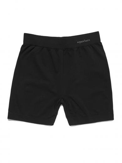 Organic Basics Silver Tech Yoga Shorts Black