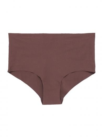 Organics Basics Invisible Cheeky High Rise 2-Pack Deep Taupe