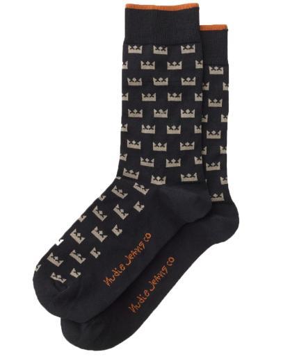 Nudie Jeans Olsson Crown Socks