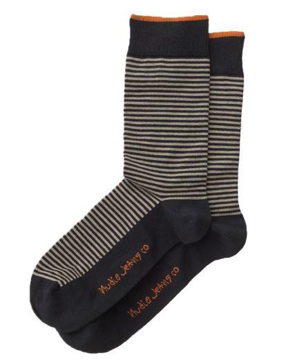 Nudie Jeans Olsson Stripe Socks