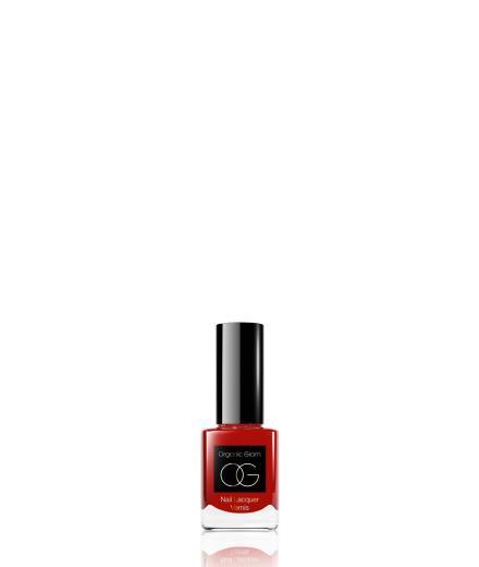 Organic Glam Nail Polish Red