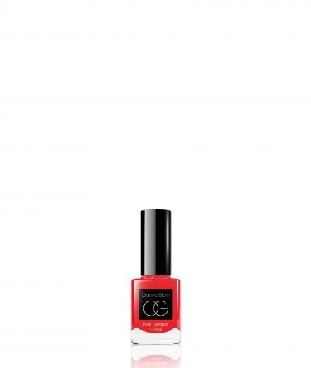 Organic Glam Nail Polish Rose