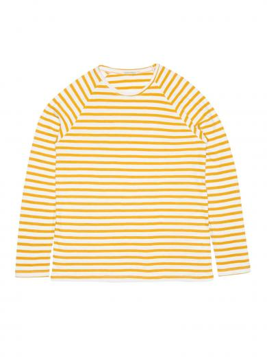 Nudie Jeans Otto Breton Stripe Yellow