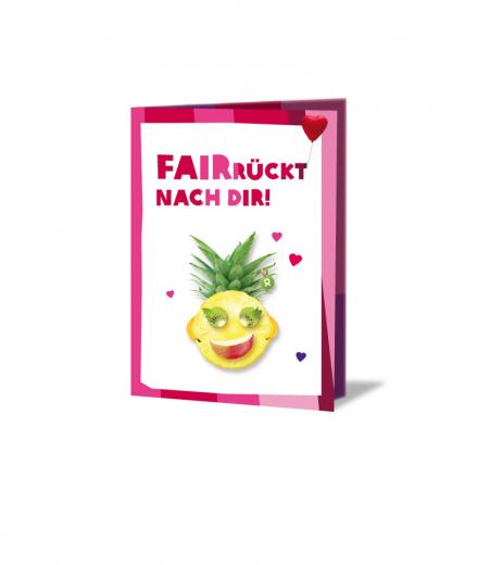 OxfamUnverpackt Faire Früchte Valentinstag