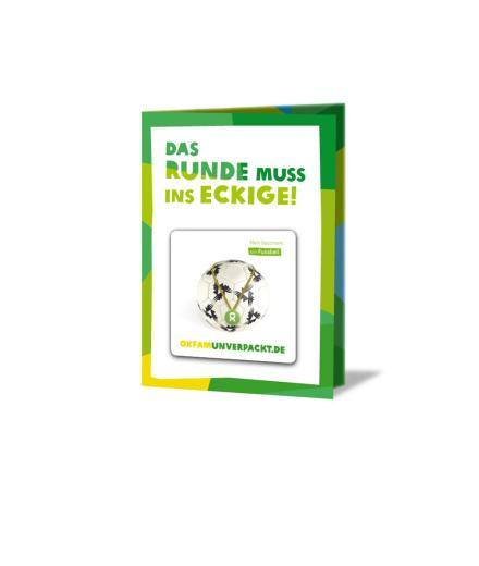 OxfamUnverpackt Fußball