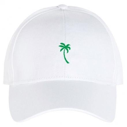 DEDICATED Sport Cap Palm white | One Size