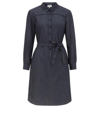 People Tree Laurel Chambray Shirt Dress 42