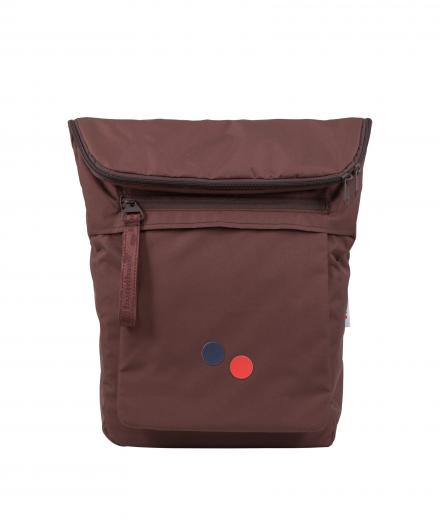 pinqponq Klak Backpack maple maroon