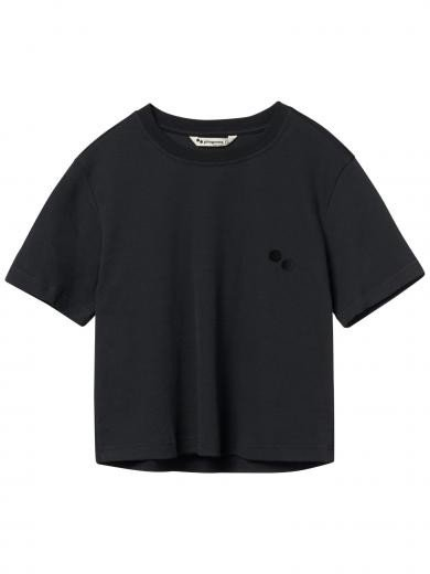 pinqponq T-Shirt Peat Black