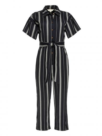 People Tree Jessalyn Stripe Jumpsuit