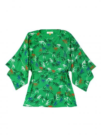 People Tree V&A Bamboo Print Top