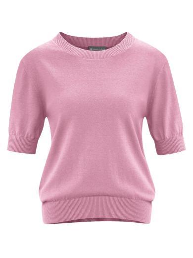 HempAge Short Sleeve Pullover Rose