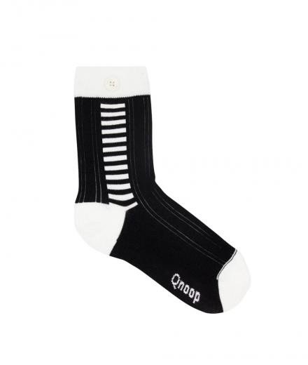 Qnoop Side Stripe Black
