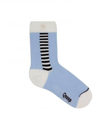 Qnoop Side Stripe Soft Blue