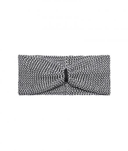 recolution Knit Headband grey/ black