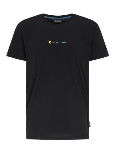 recolution Casual T-Shirt #TRASHMAN Black