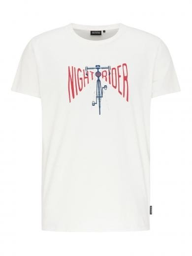 recolution Casual T-Shirt #NIGHTRIDER White