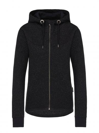 recolution Waffle Deluxe Sweatjacket Black Waffle