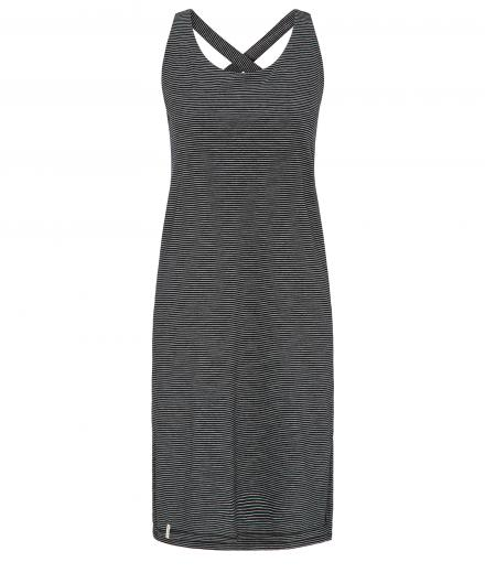 recolution Jerseykleid Sleeveless #STRIPES black white | M