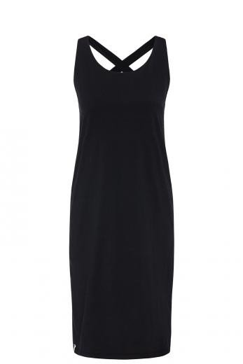 recolution Sleeveless Jerseydress black