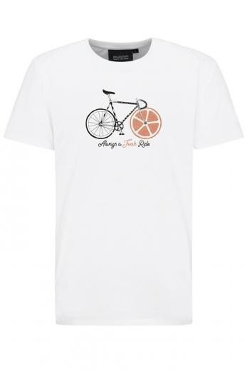 recolution Basic T-Shirt #FRESHRIDE white | L